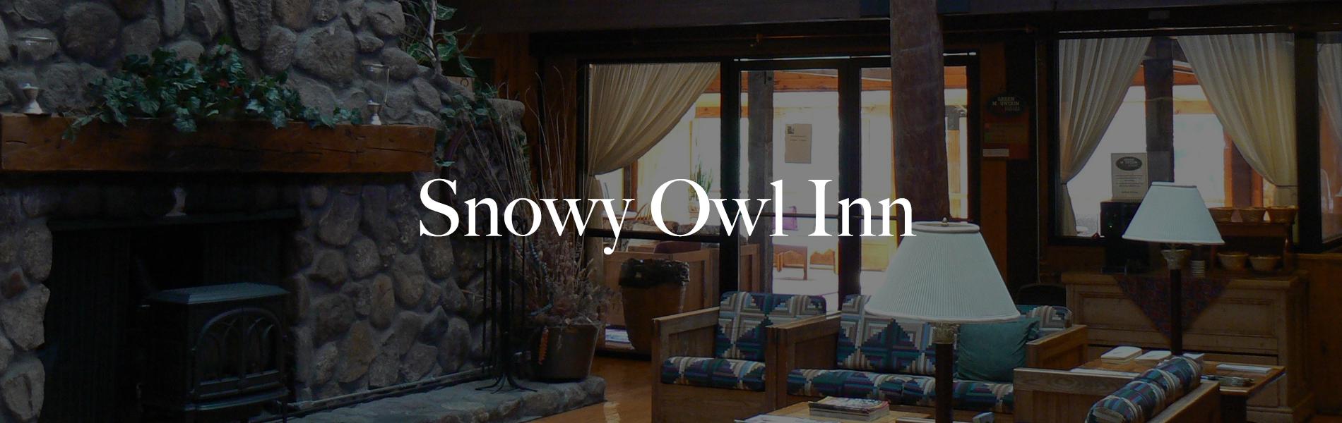 Enjoy the charm of the Snowy Own Inn