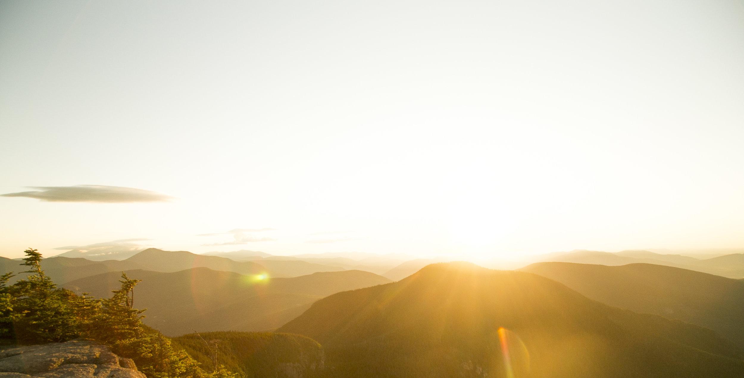 Sunrise on Mt Osceola
