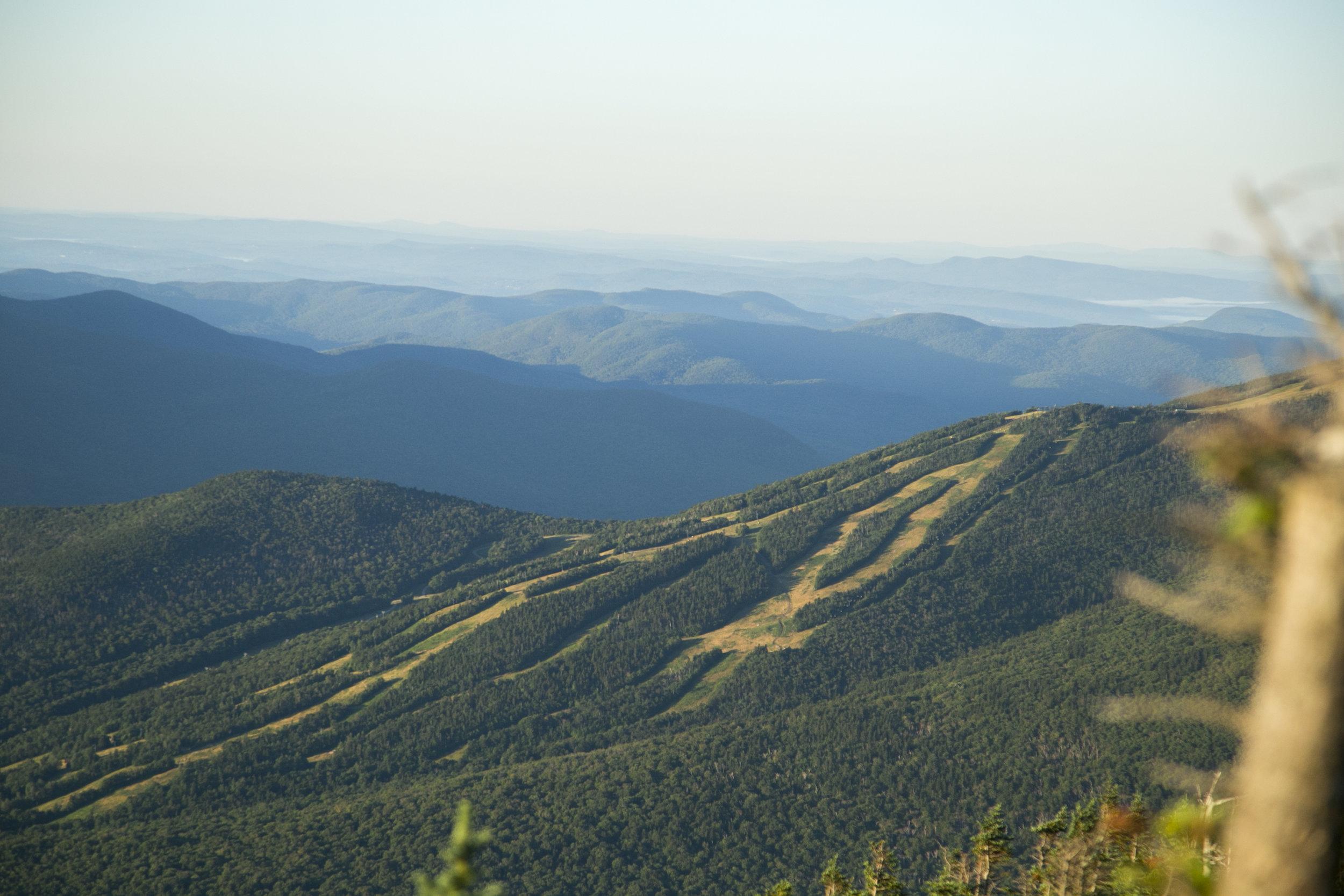 View of Waterville Valley Ski Resort