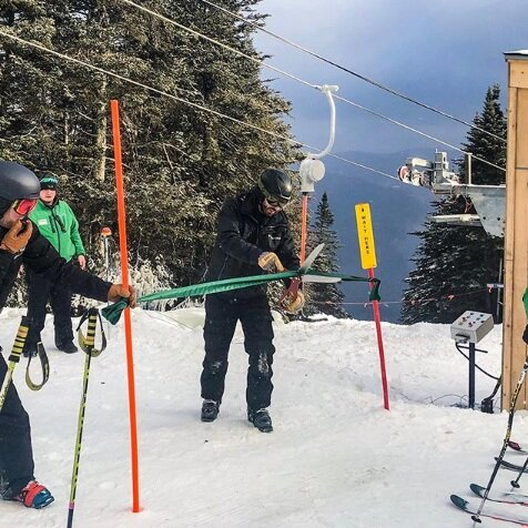 The grand opening of the High Country T-Bar.