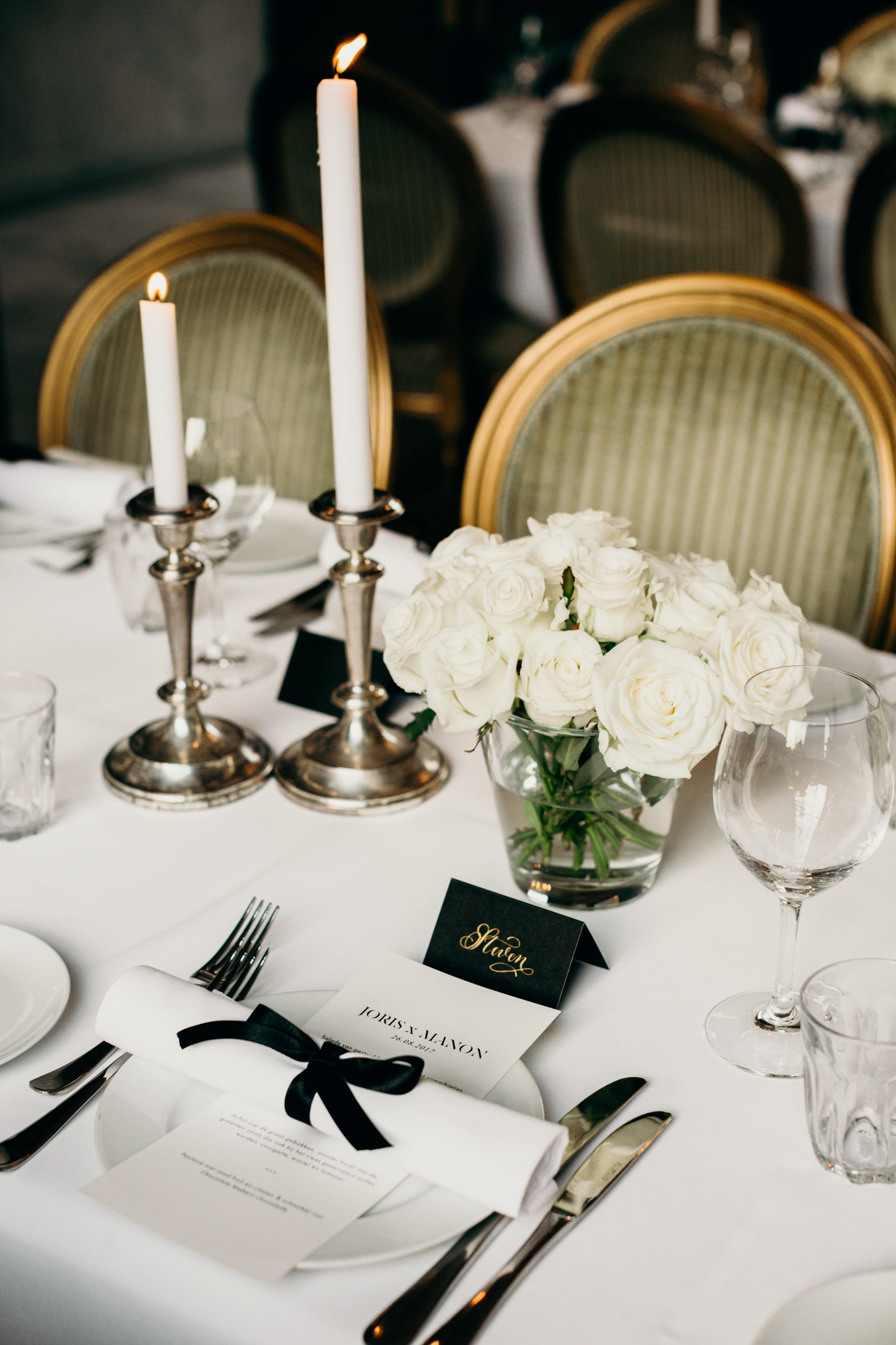 Table styling wedding bruiloft