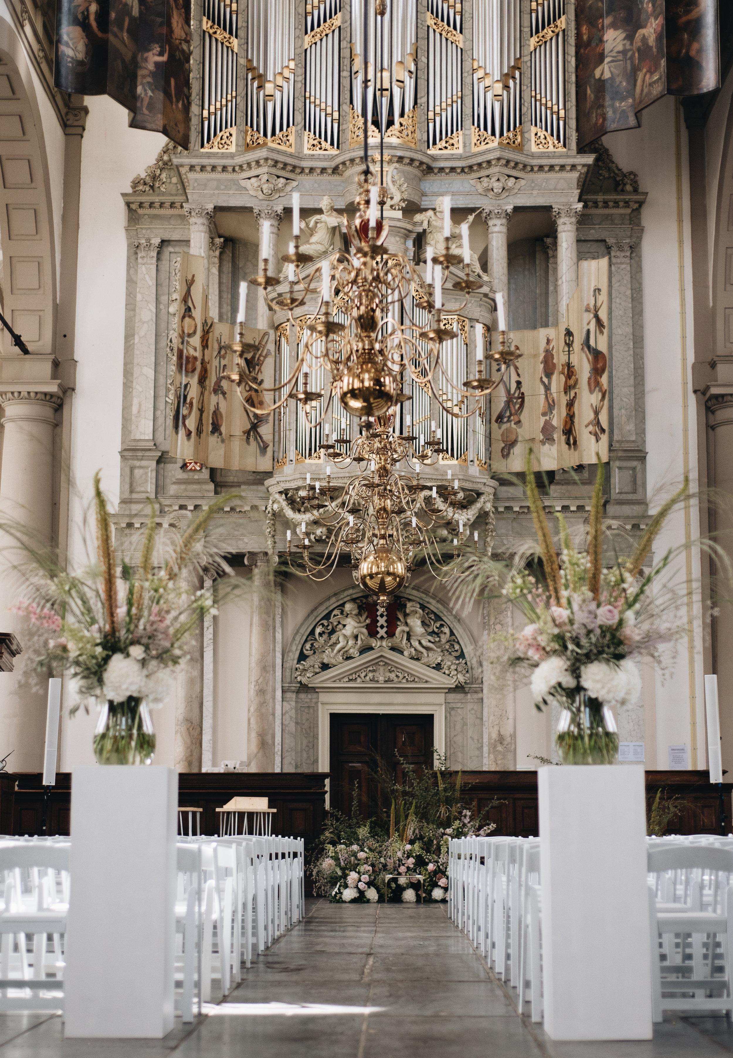 bruiloft westerkerk amsterdam otmweddings