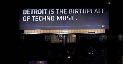 Movement festival billboard ad