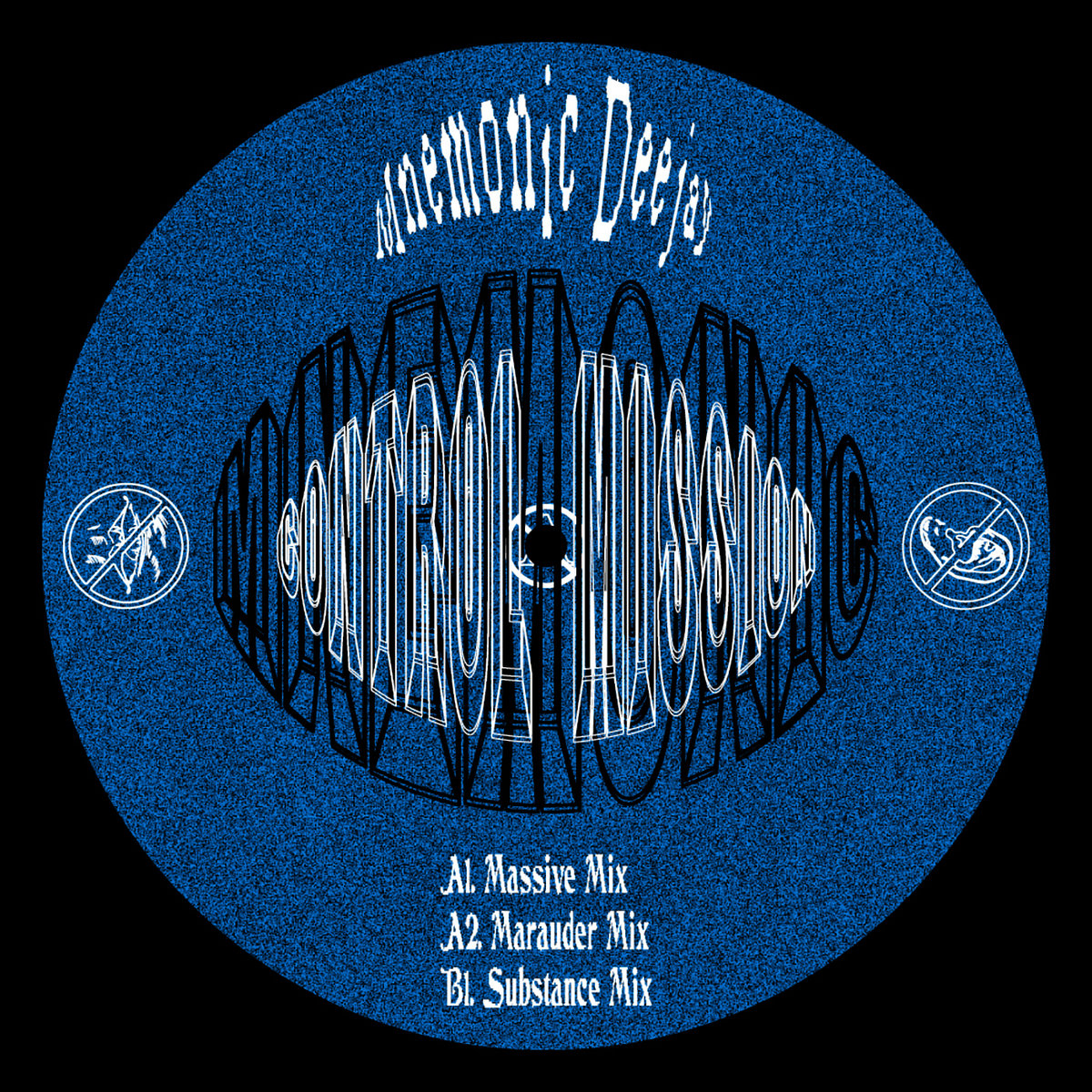 Control Mission EP, front label