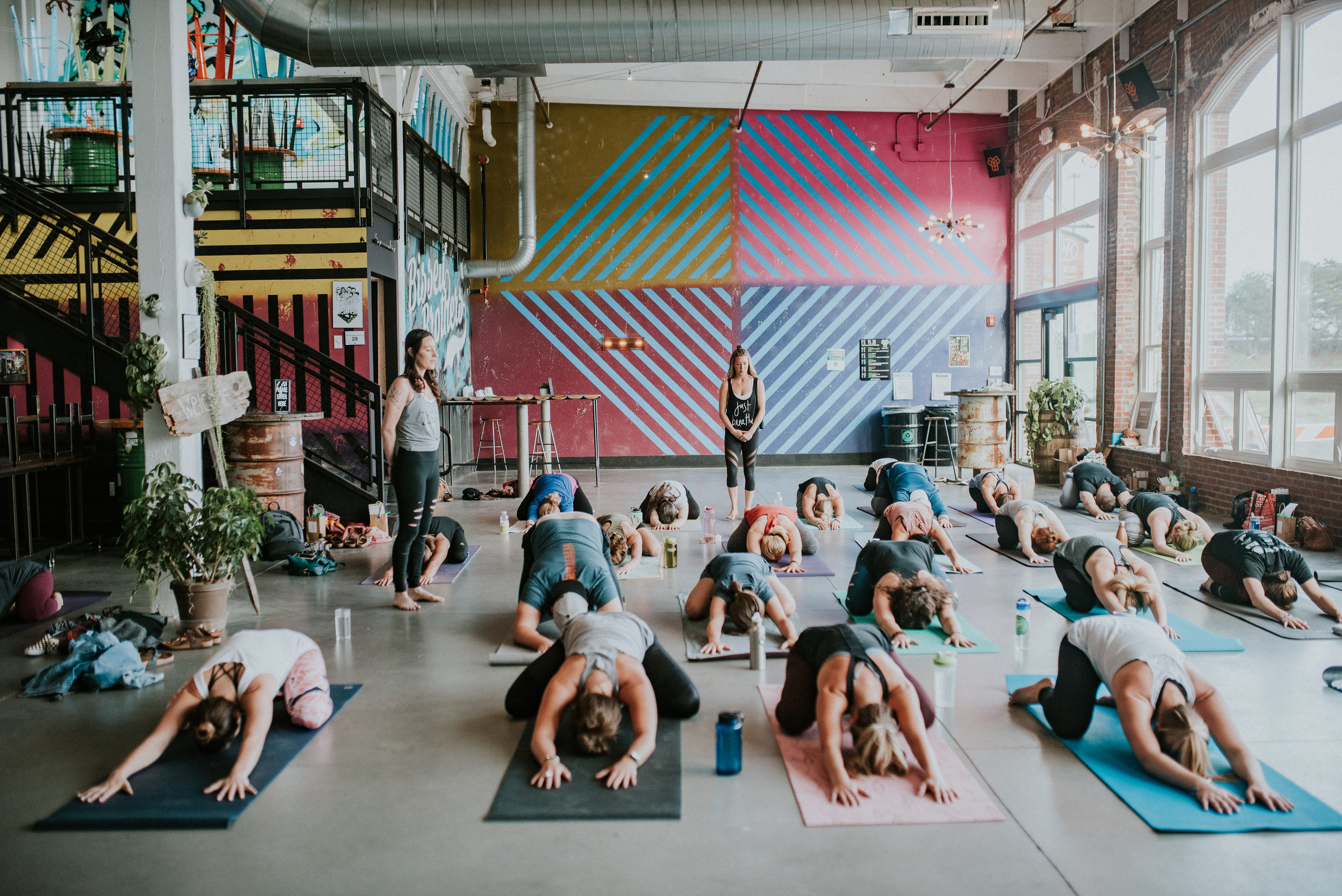 Be Well Yoga / May 21st, 2017