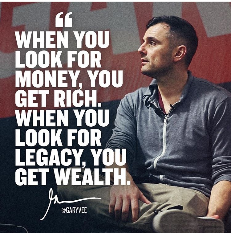 If you aren't following  @garyvee  on Instagram, you're missing out. ;)