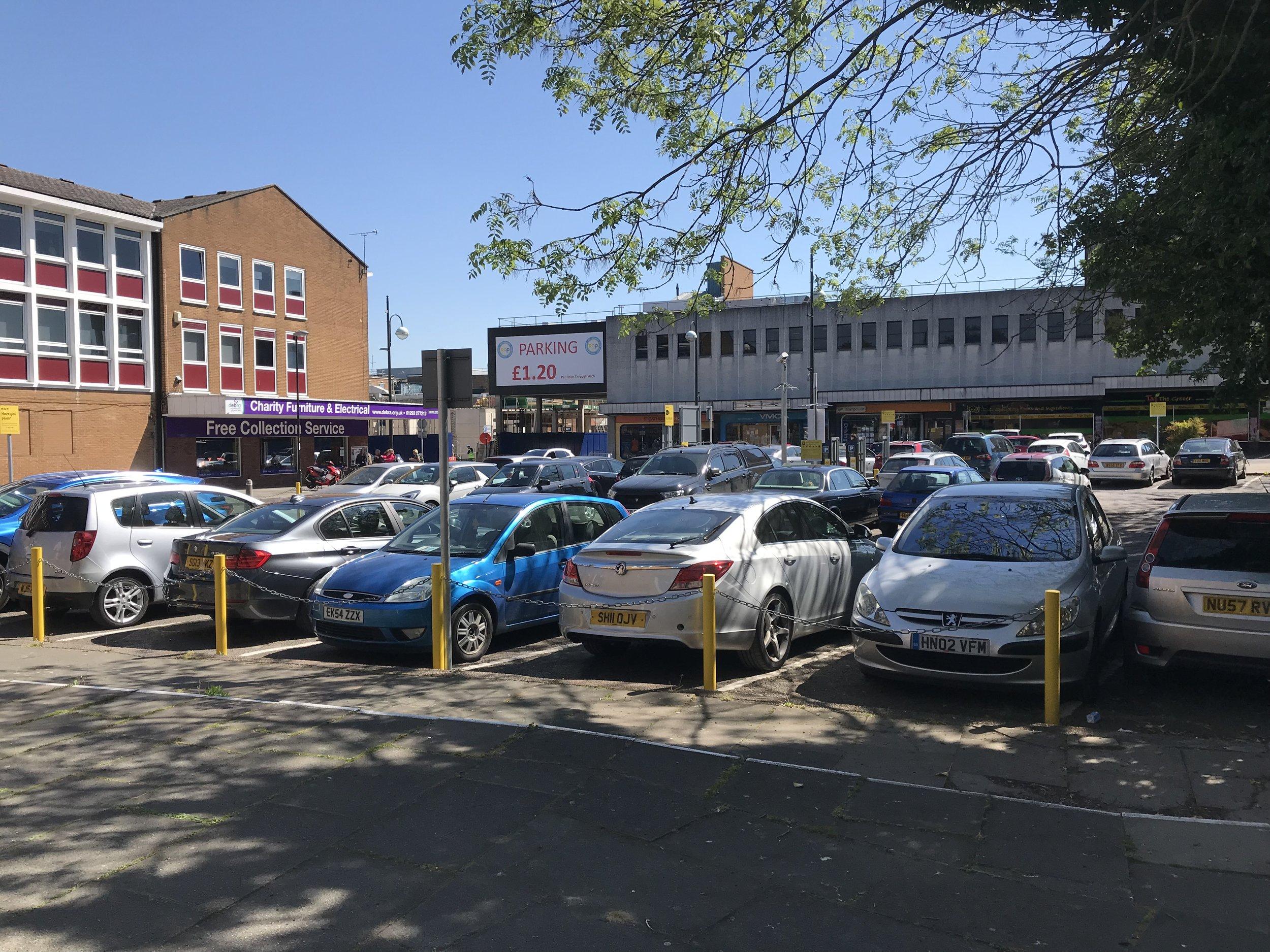 Car Park, Cross Keys, CRAWLEY Purchased 2019