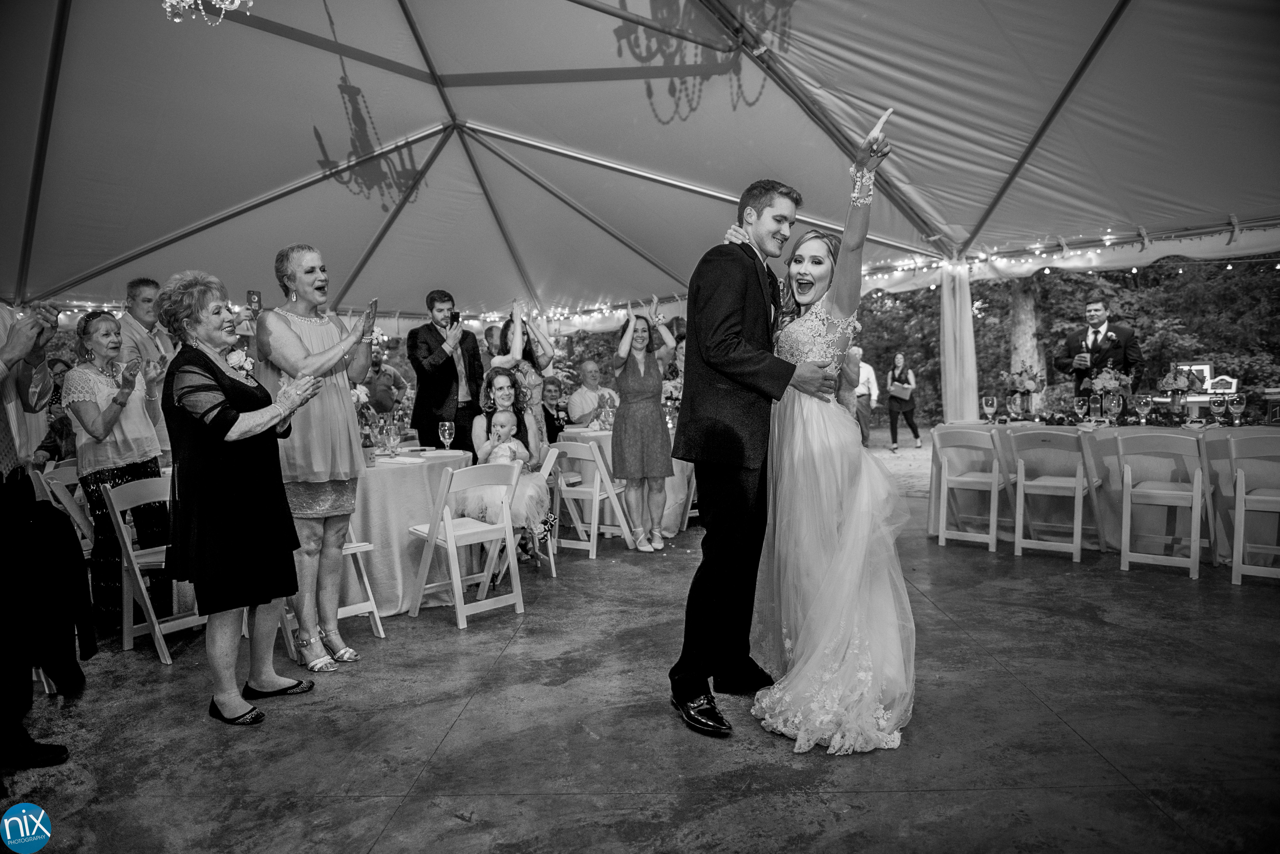 bride and groom introduced at Morning Glory Farm.jpg
