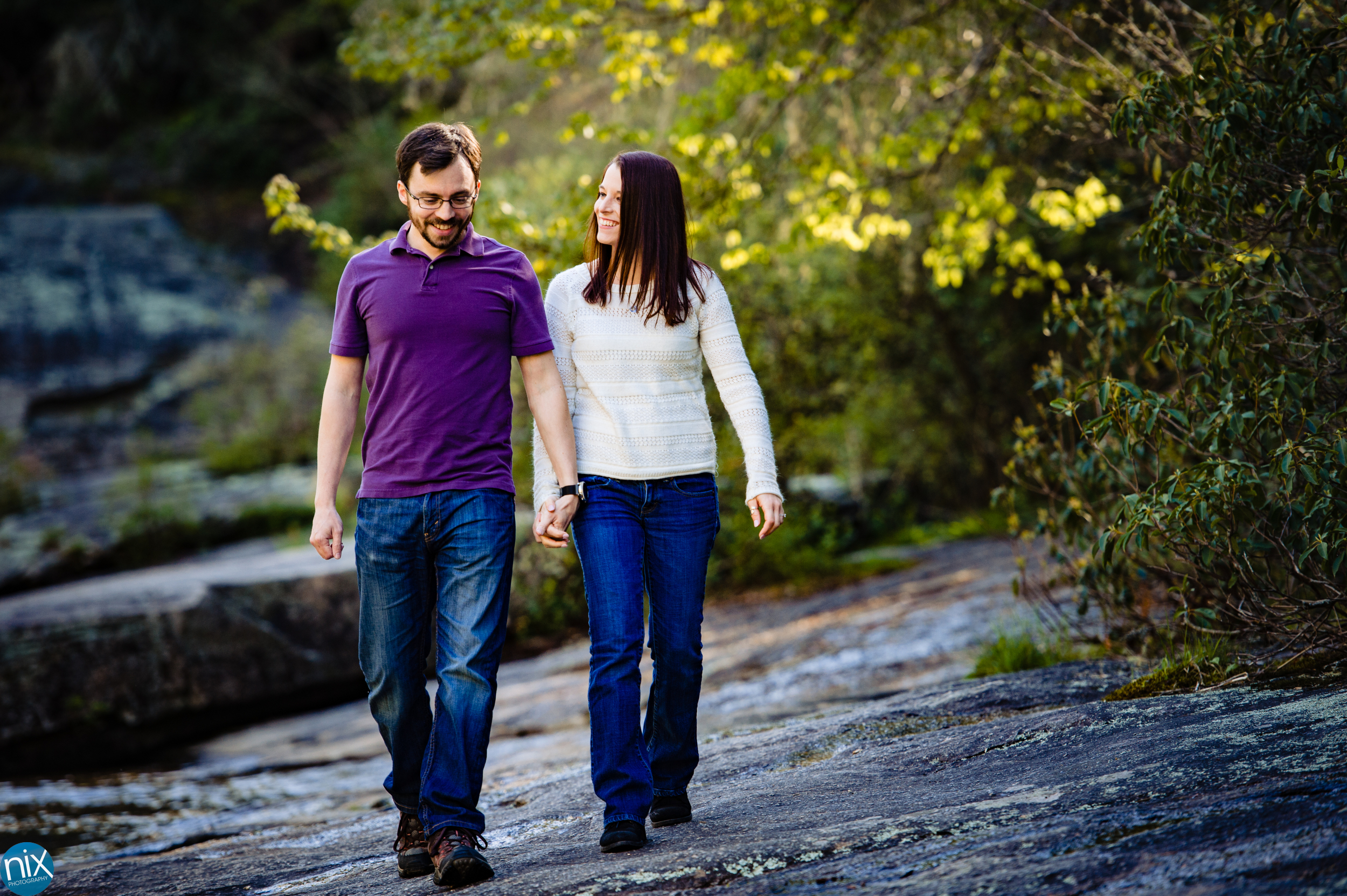 couple-walking-DuPont-State-Forest-Engagement.jpg