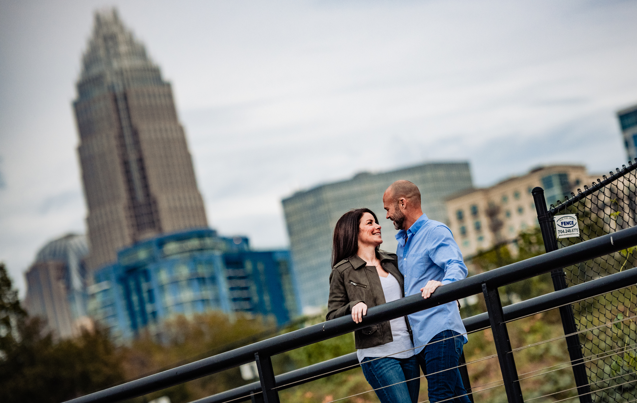 Engagement in Uptown Charlotte skyline.jpg