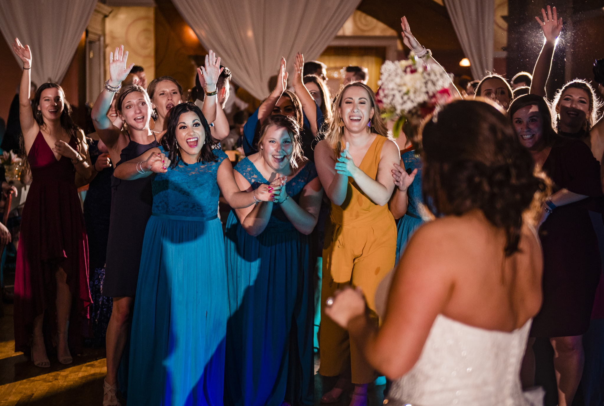 Big Chill Wedding bouquet toss.jpg