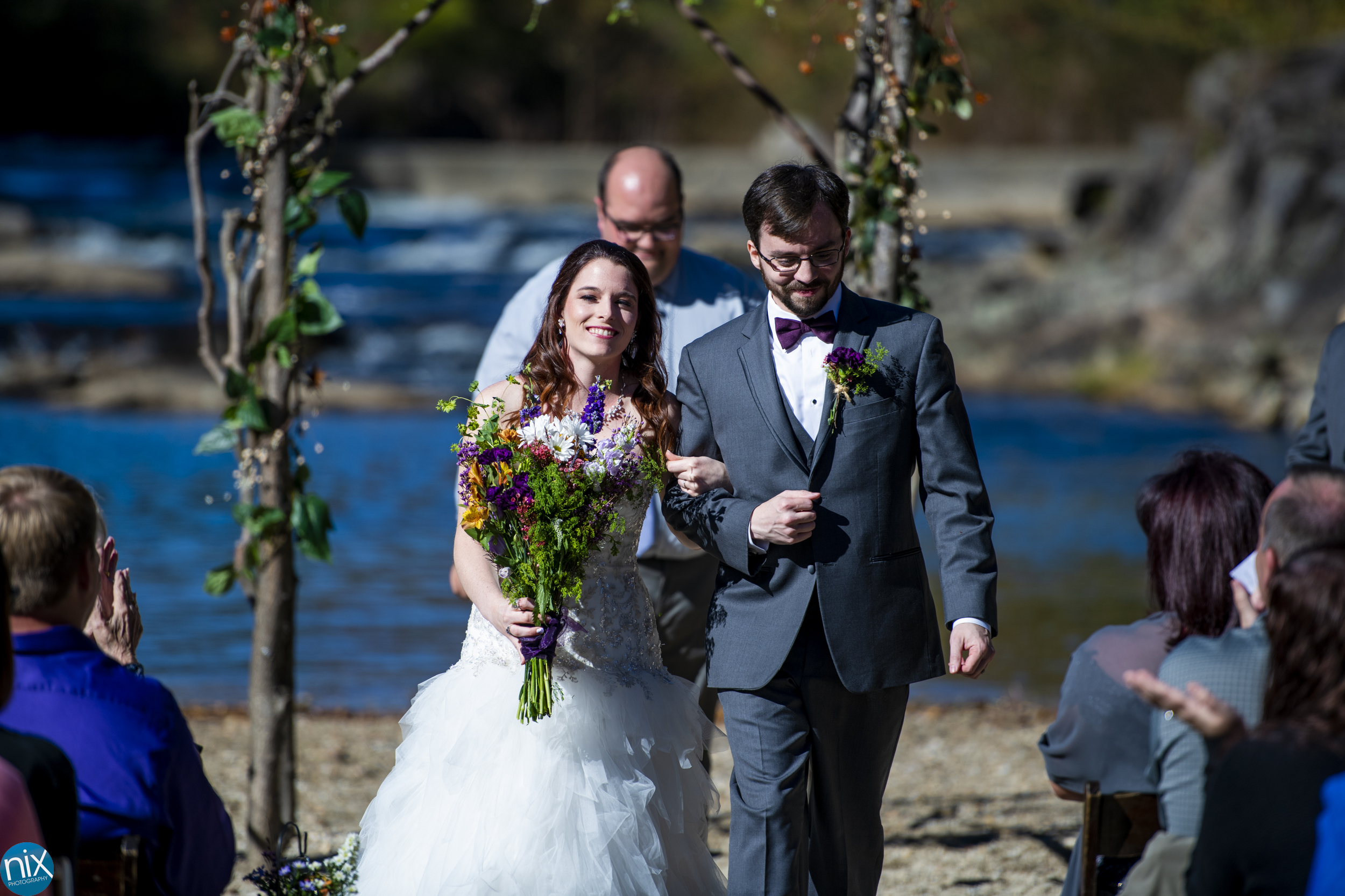 bride and groom are married at Brown Mountain Beach Resort.jpg