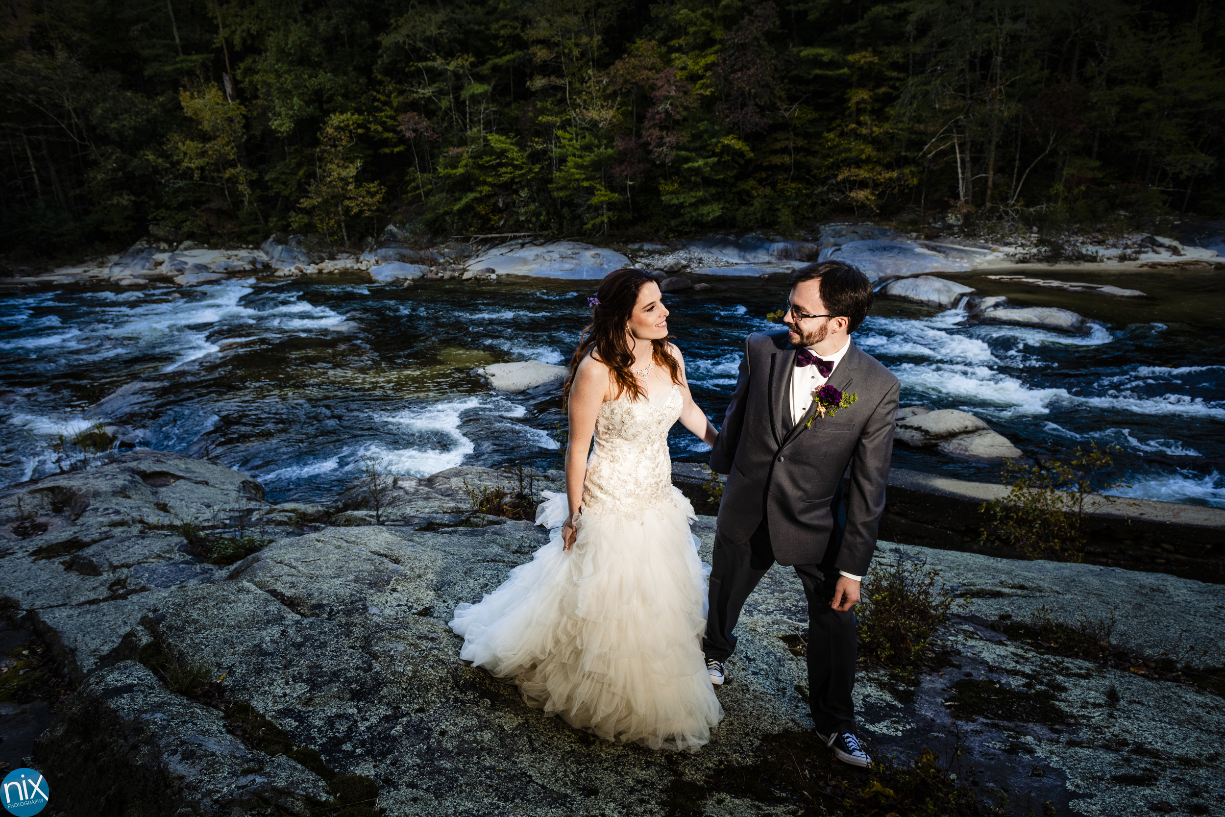 Brown Mountain Beach Resort river wedding.jpg