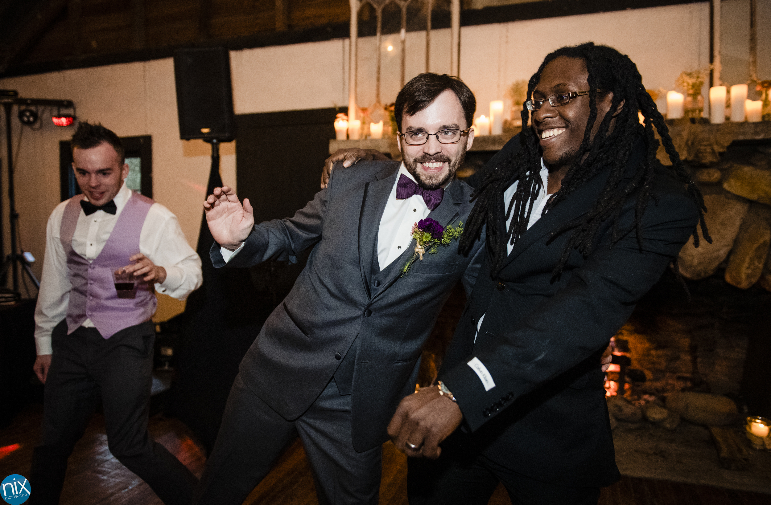 groom dances at Brown Mountain Beach Resort.jpg