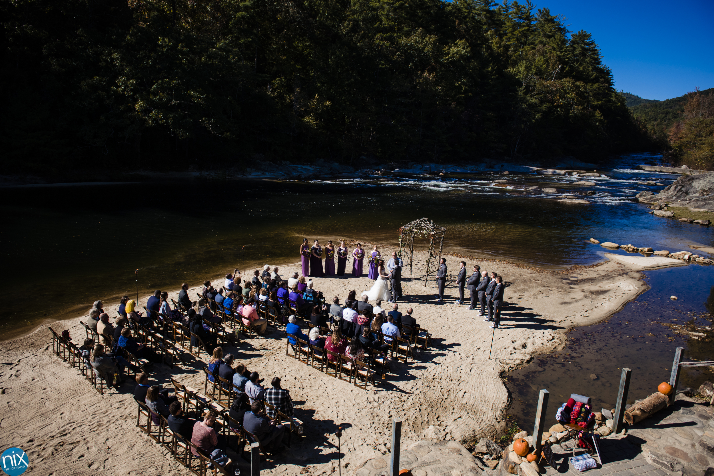 river side wedding ceremony in north carolina.jpg
