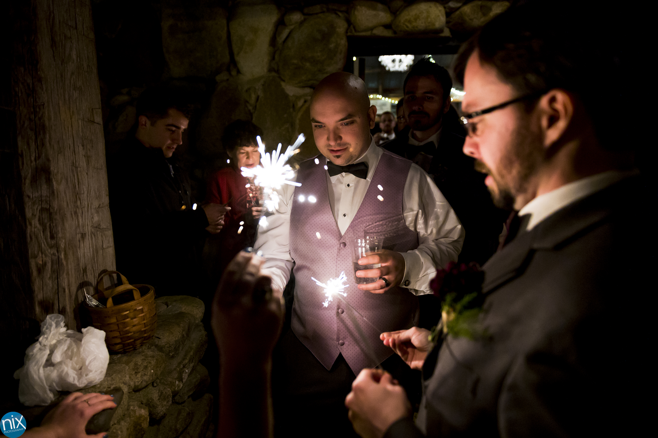 sparklers at Brown Mountain Beach Resort.jpg