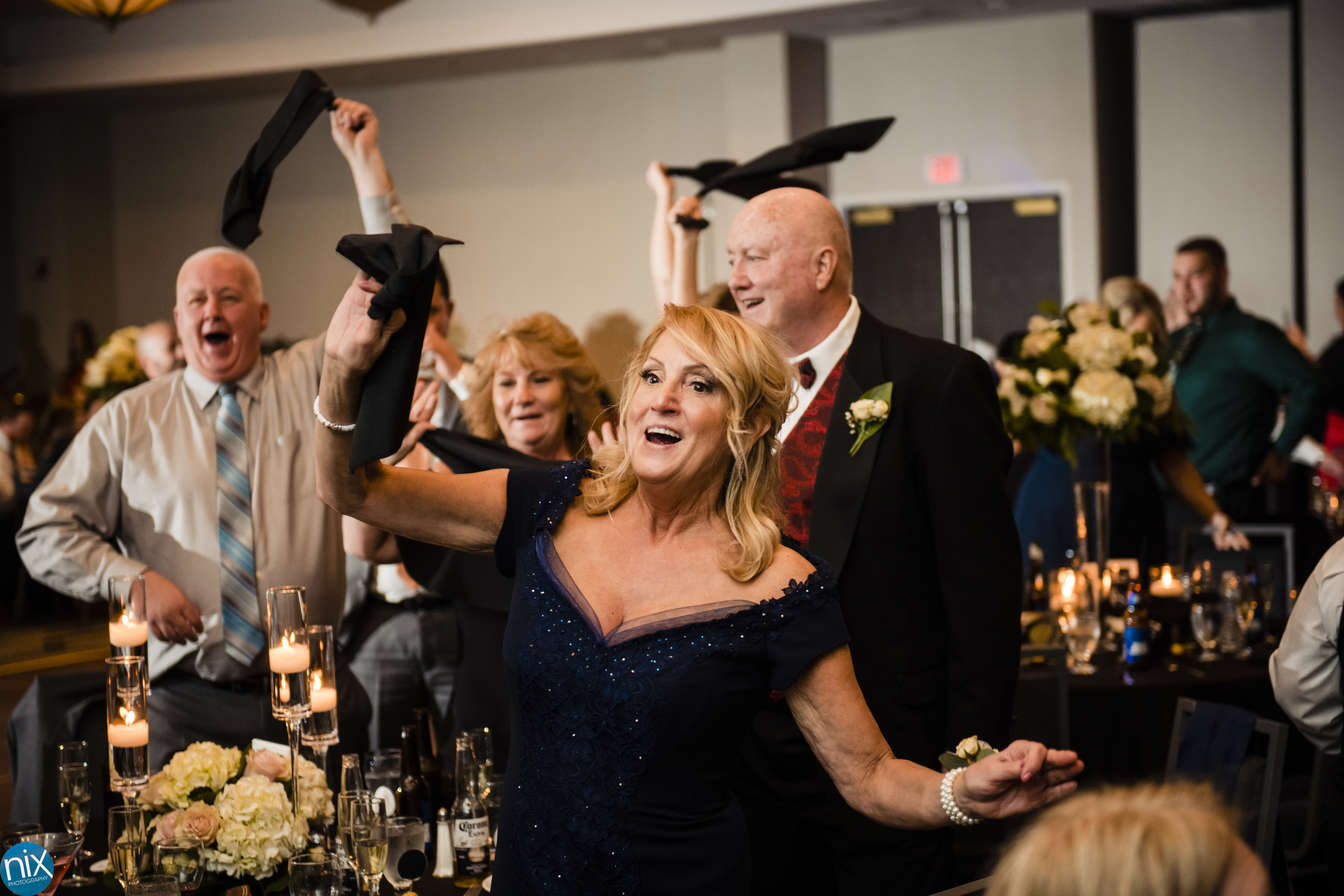 family dances at wedding reception at embassy suites.jpg