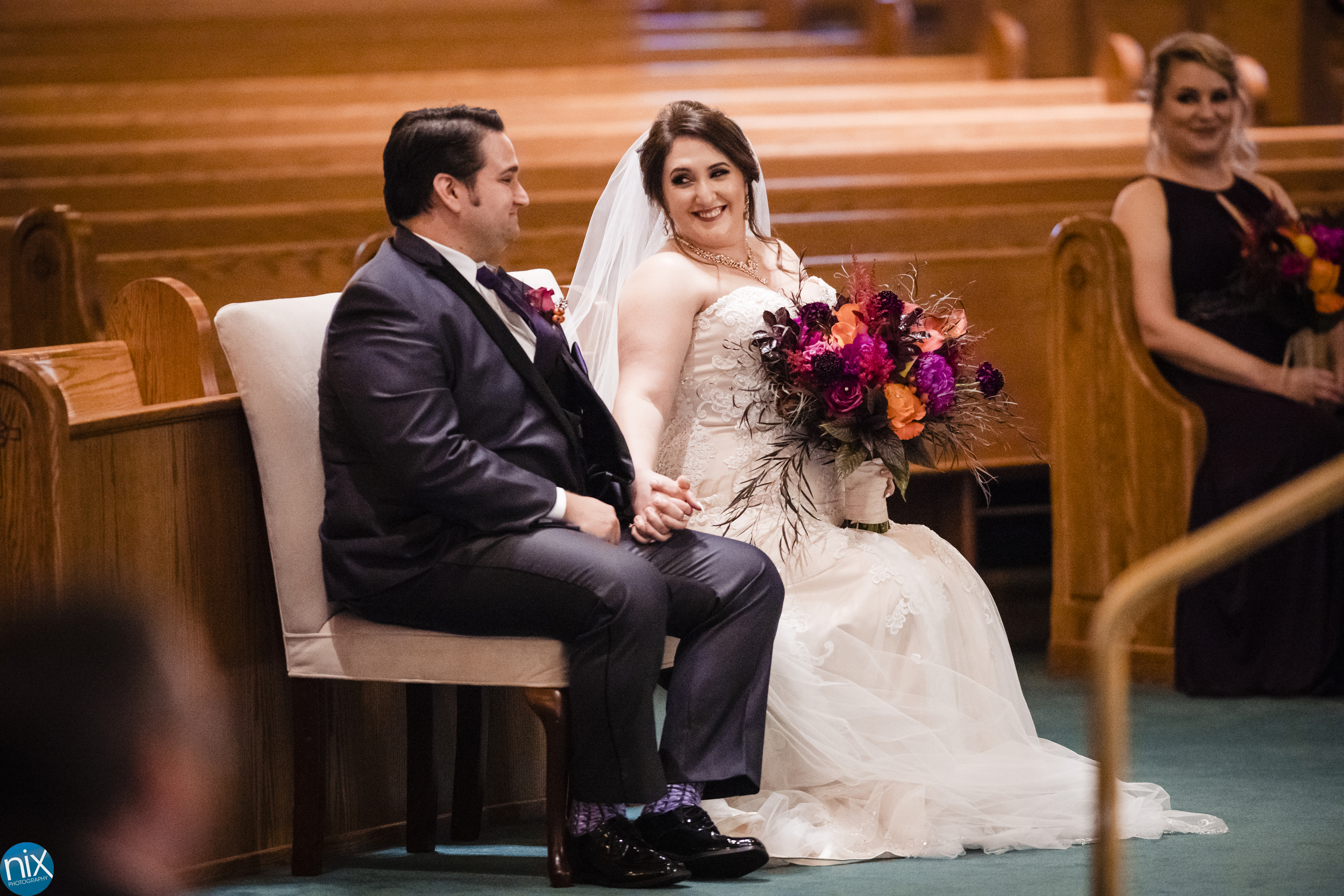 bride and groom at Catholic ceremony.jpg