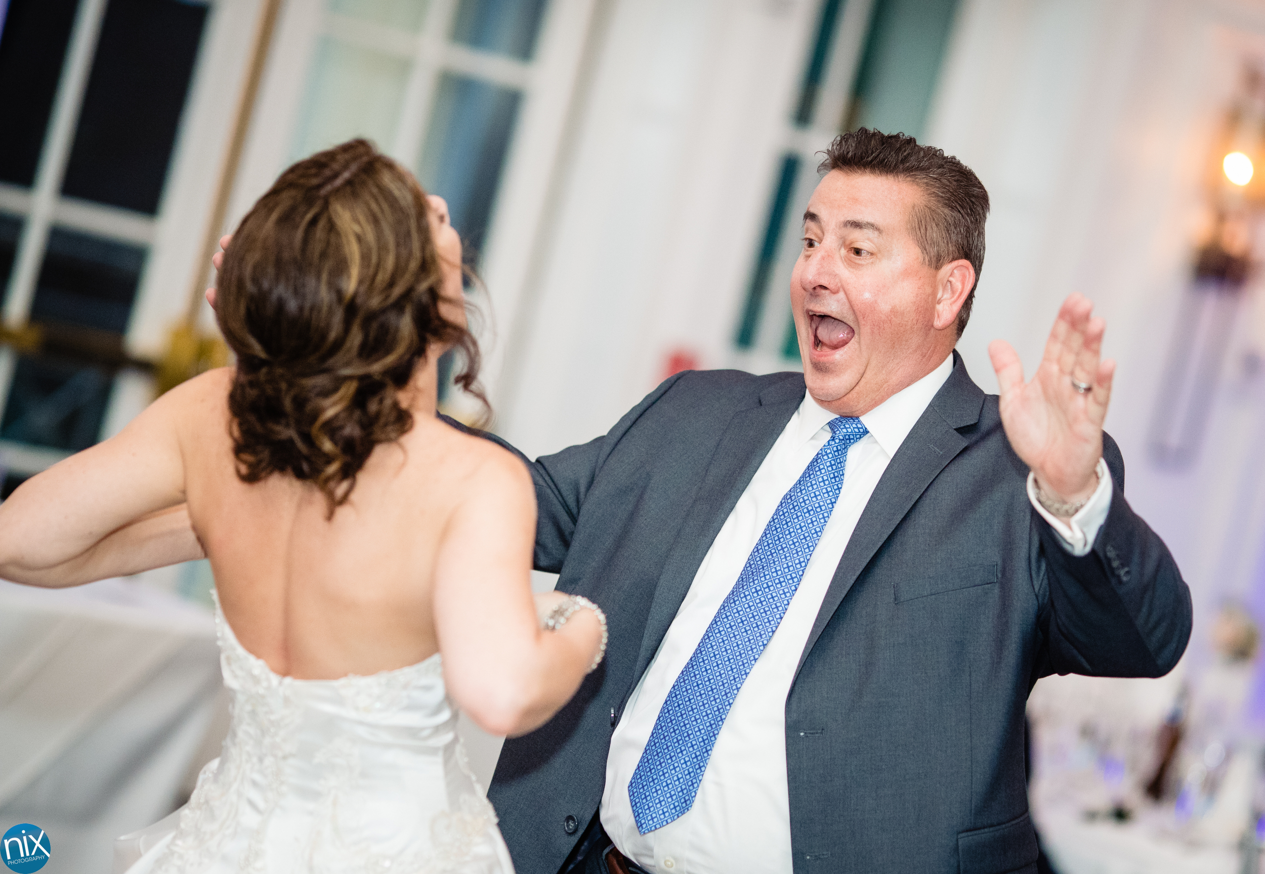 father of bride at River Run Country Club