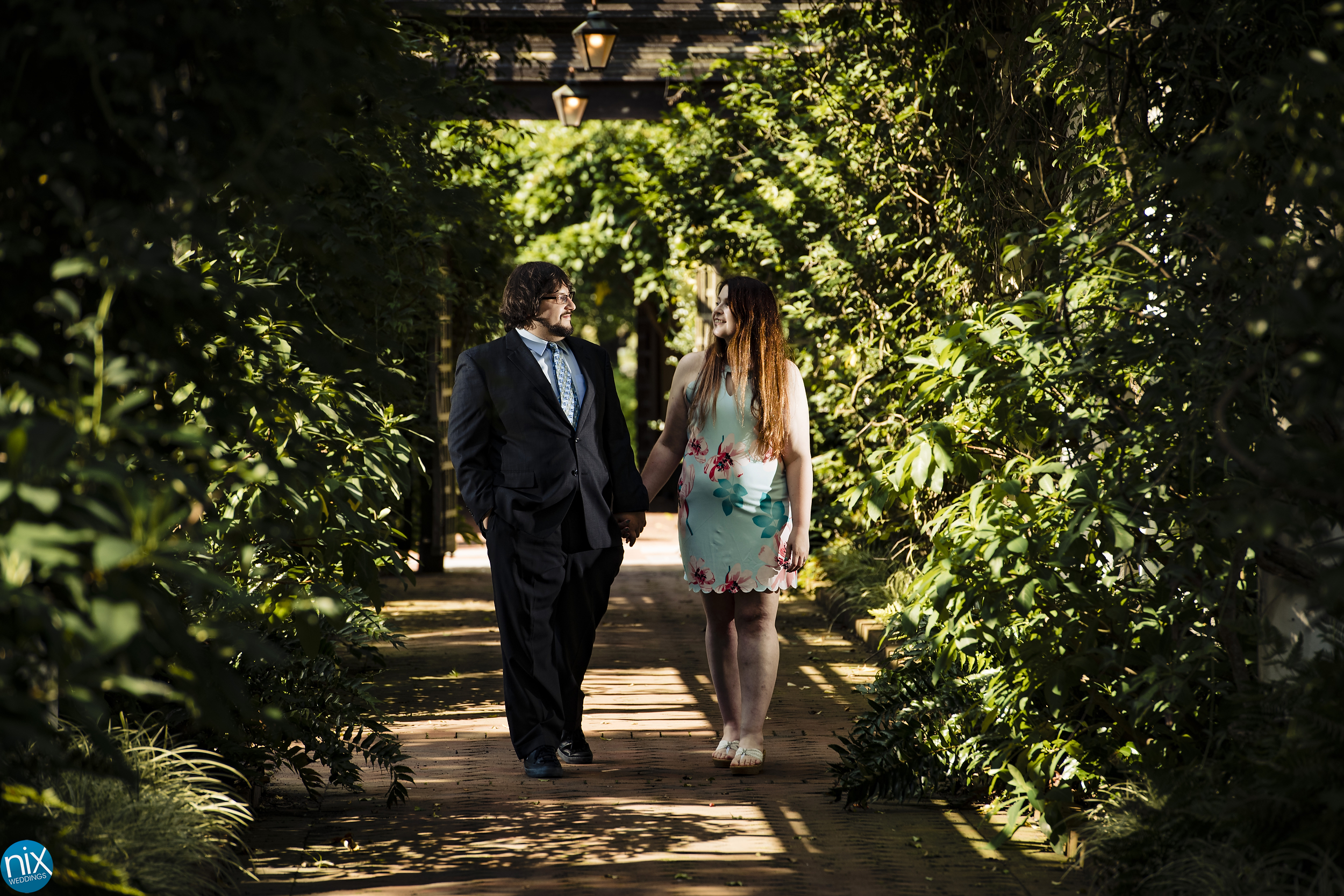 Holly and Alexander's Engagement at Daniel Stowe Botanical Gardens on Thursday, June 27, 2019.