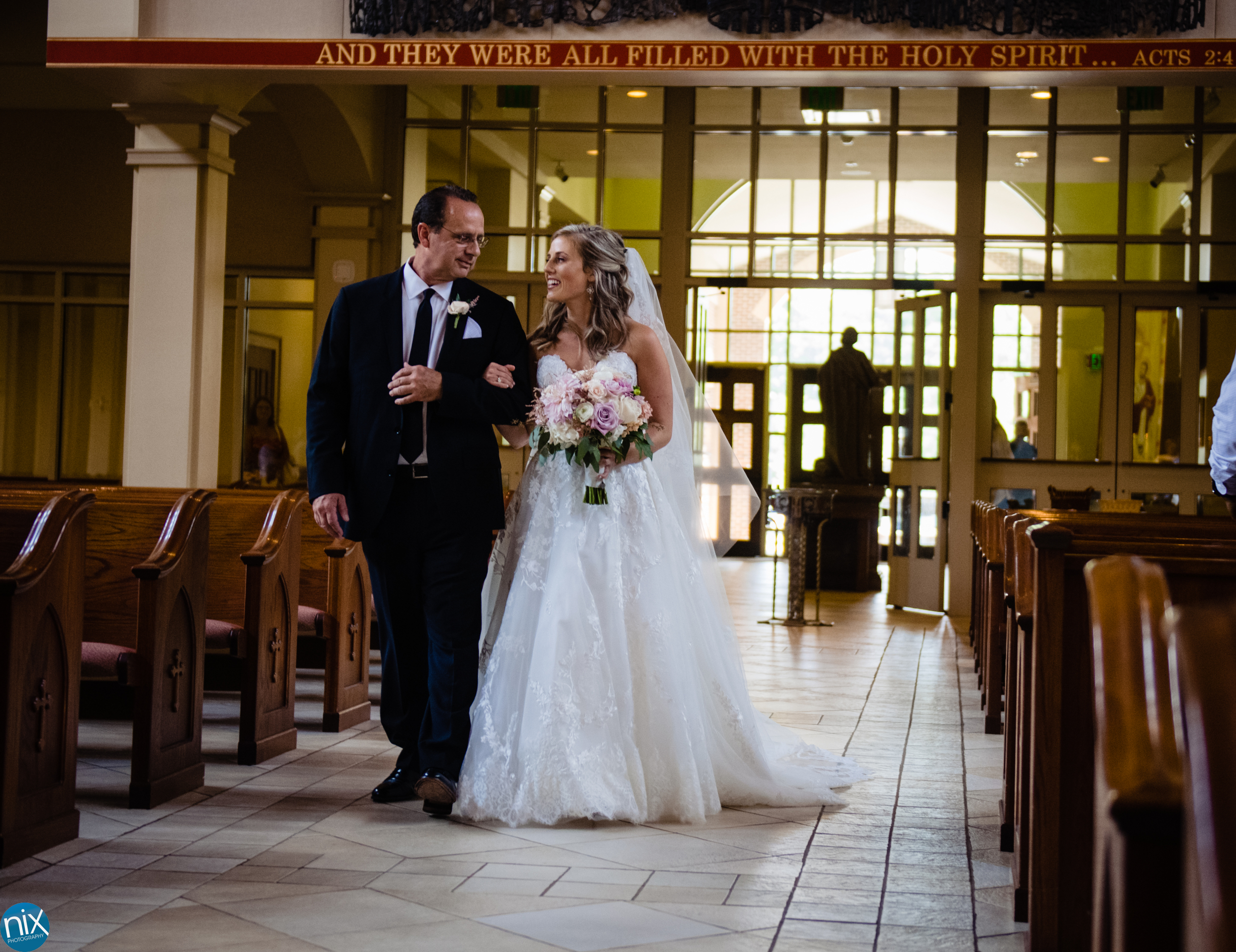 Sarah and Aaron's Wedding at Saint Marks Catholic Church and the Peninsula Club on Saturday, July 13, 2019.