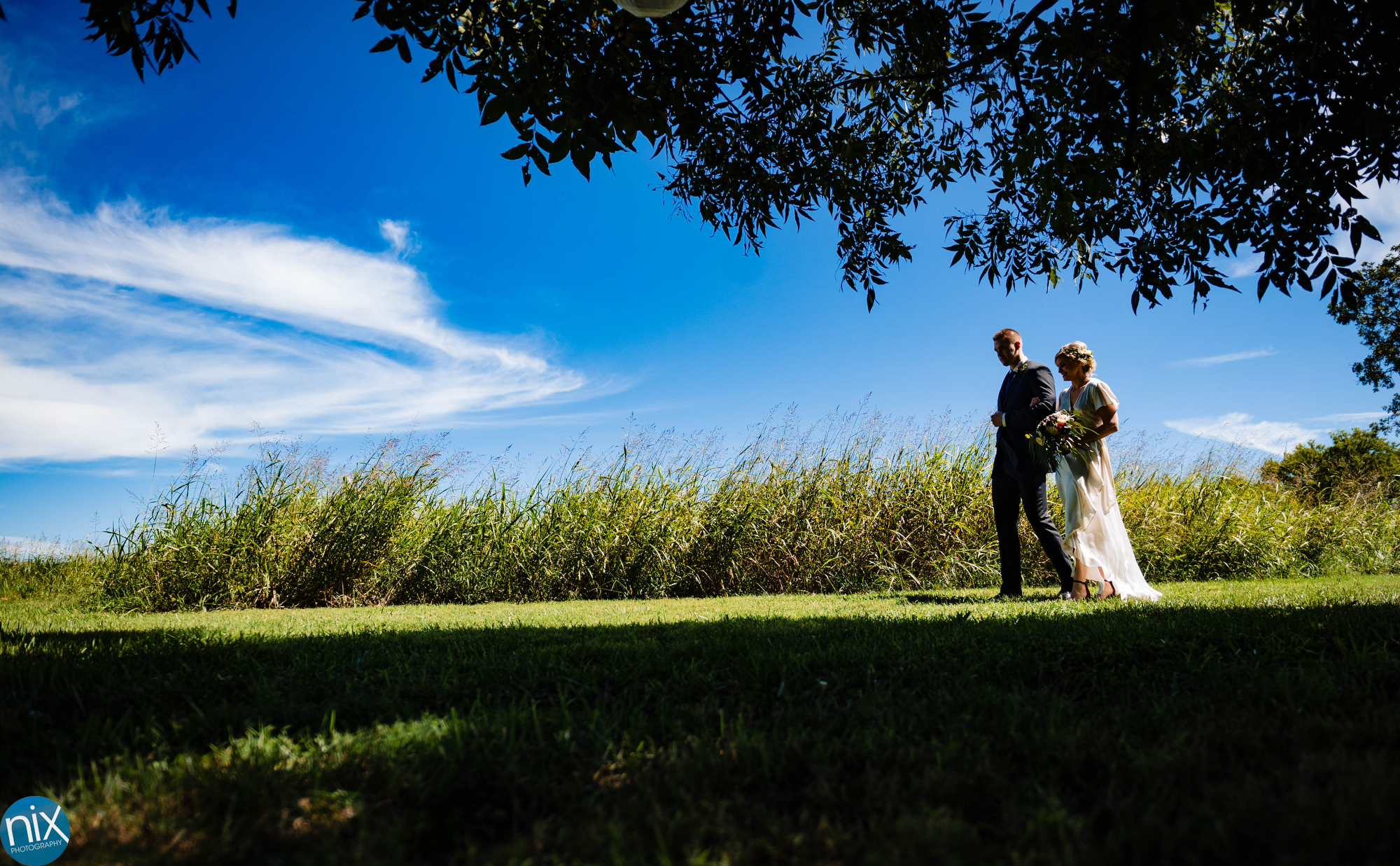 A Place in the Vineyards bride walks down the aisle.JPG