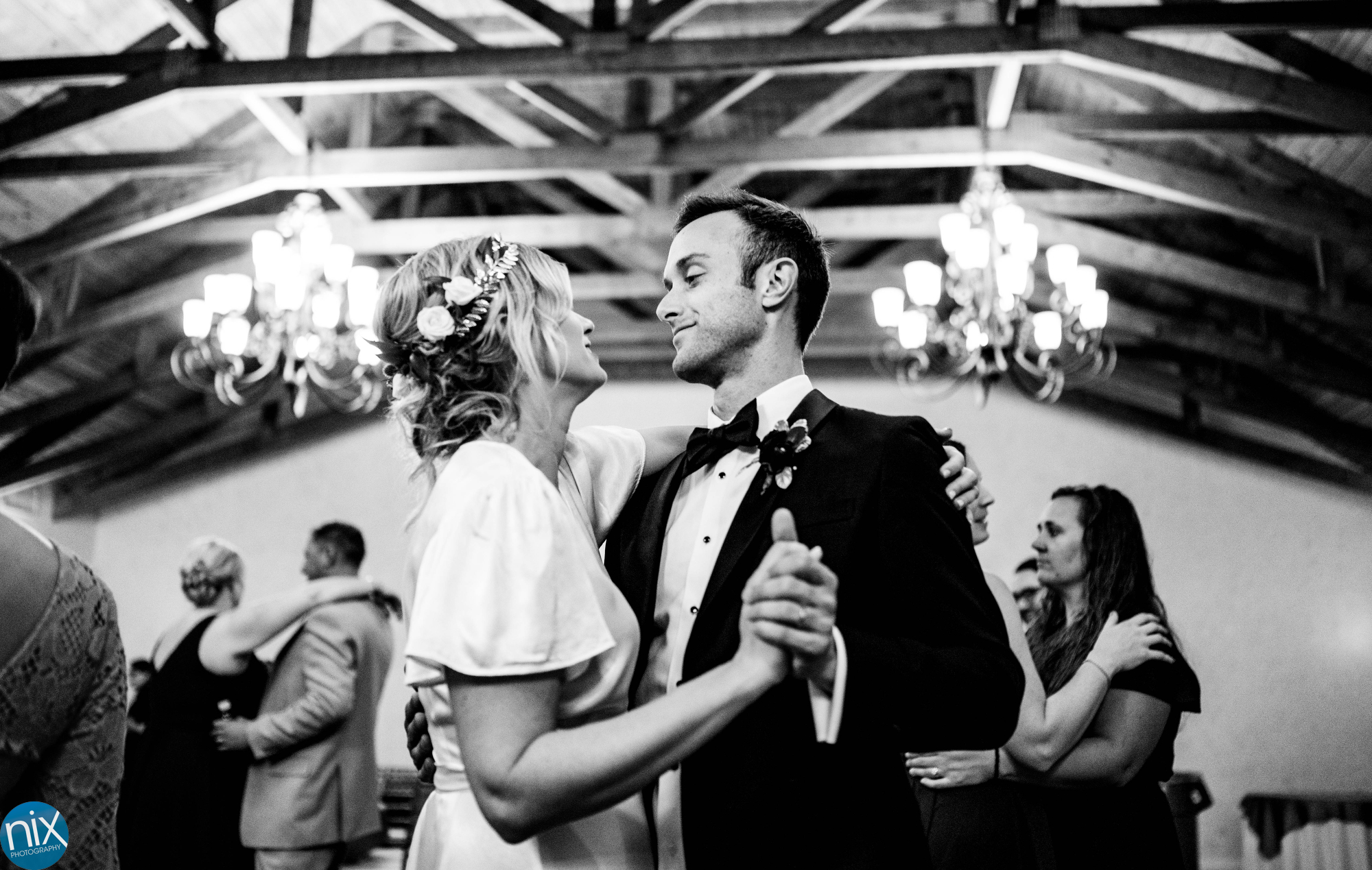 bride and groom dance at A Place in the Vineyards .JPG