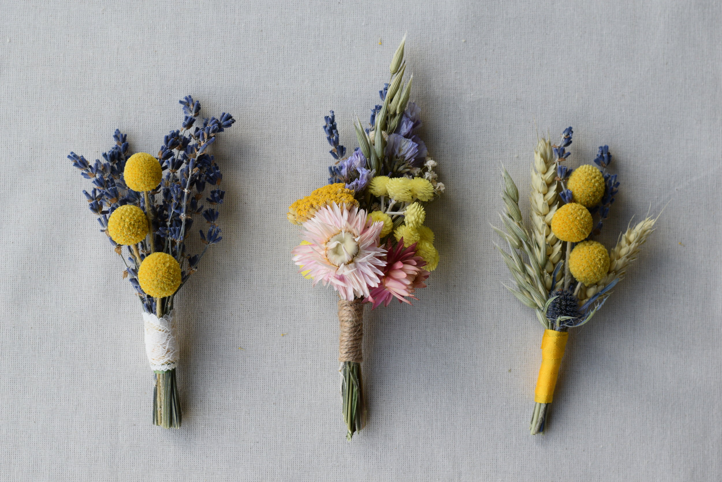 Buttonholes/ Corsages - Buttonholes and corsages guaranteed to bring a smile!