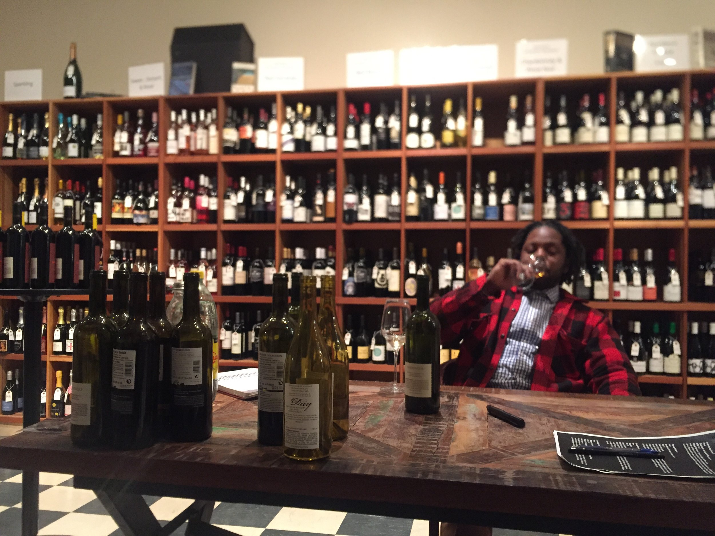 Derrick Westbrook is the Official Wine Buyer and Sommelier at 57th Street Wines