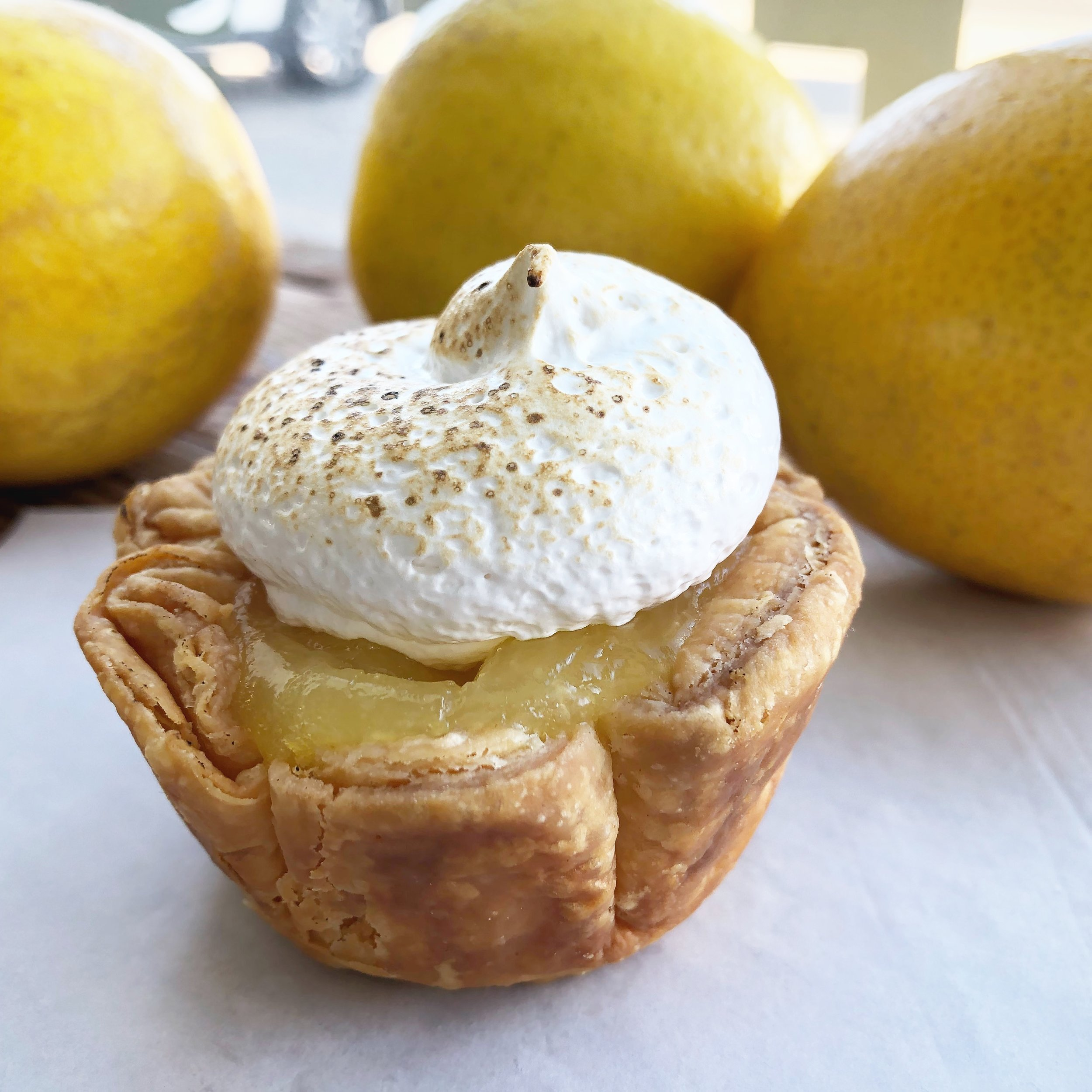 Our January special, the Meyer Lemon Meringue.   Read more