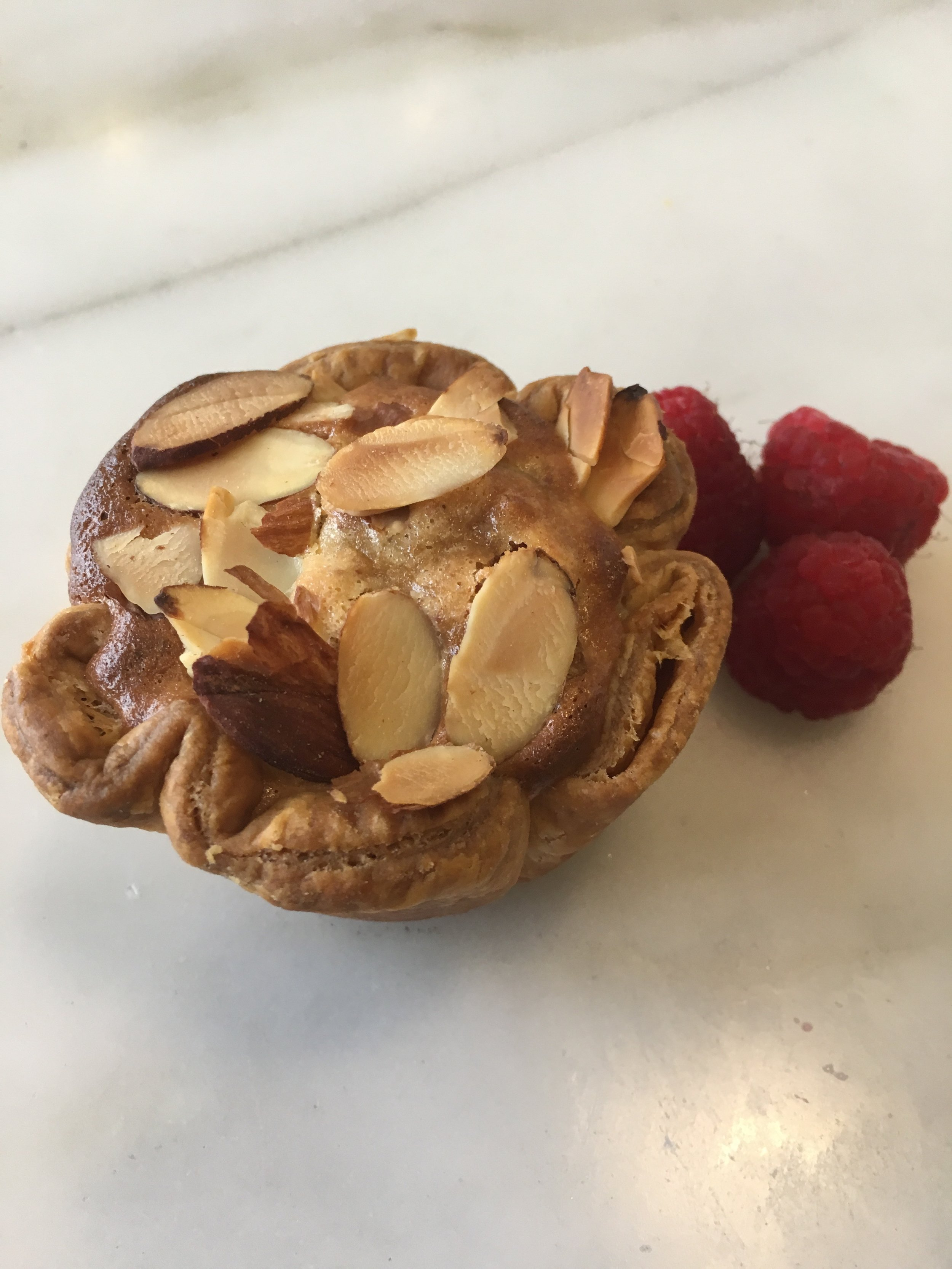 March's Pie of the Month, Raspberry Almond