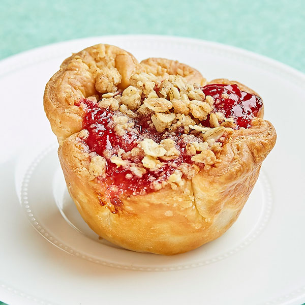 Cherry Pie. Available in regular or vegan options.