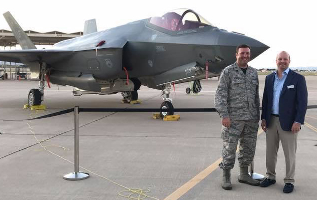 Luke Air Force Base names Perfect Water Technologies, Inc. president Jon Sigona as an Honorary Base Commander to the 56th Fighter Wing in Phoenix, AZ.