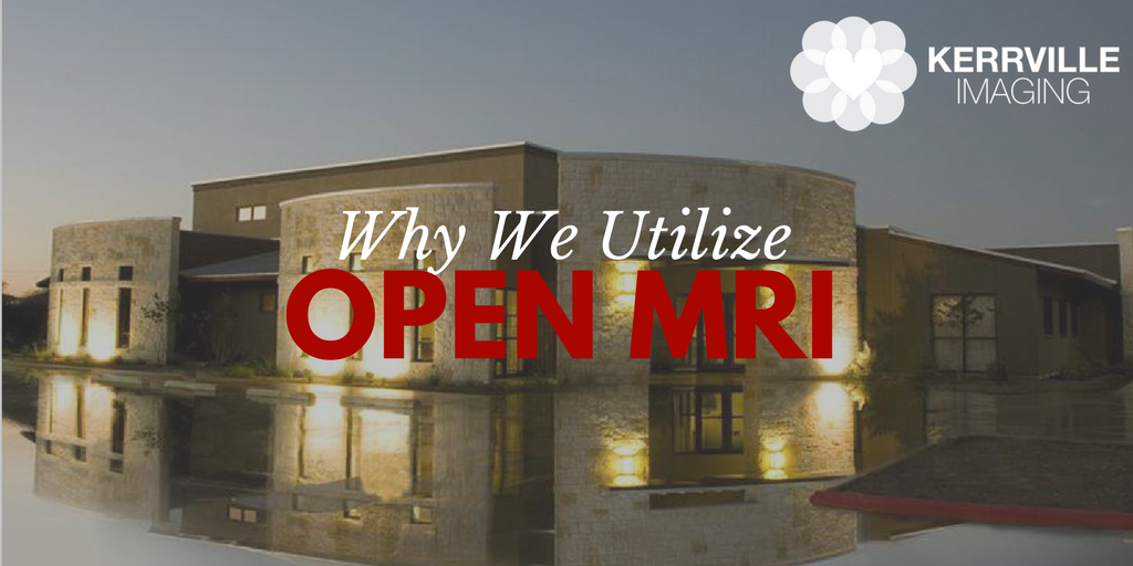 Why we utilize Open MRI, Open MRI