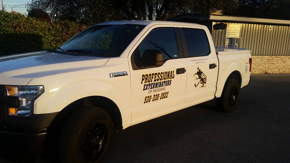 Professional Exterminators Truck