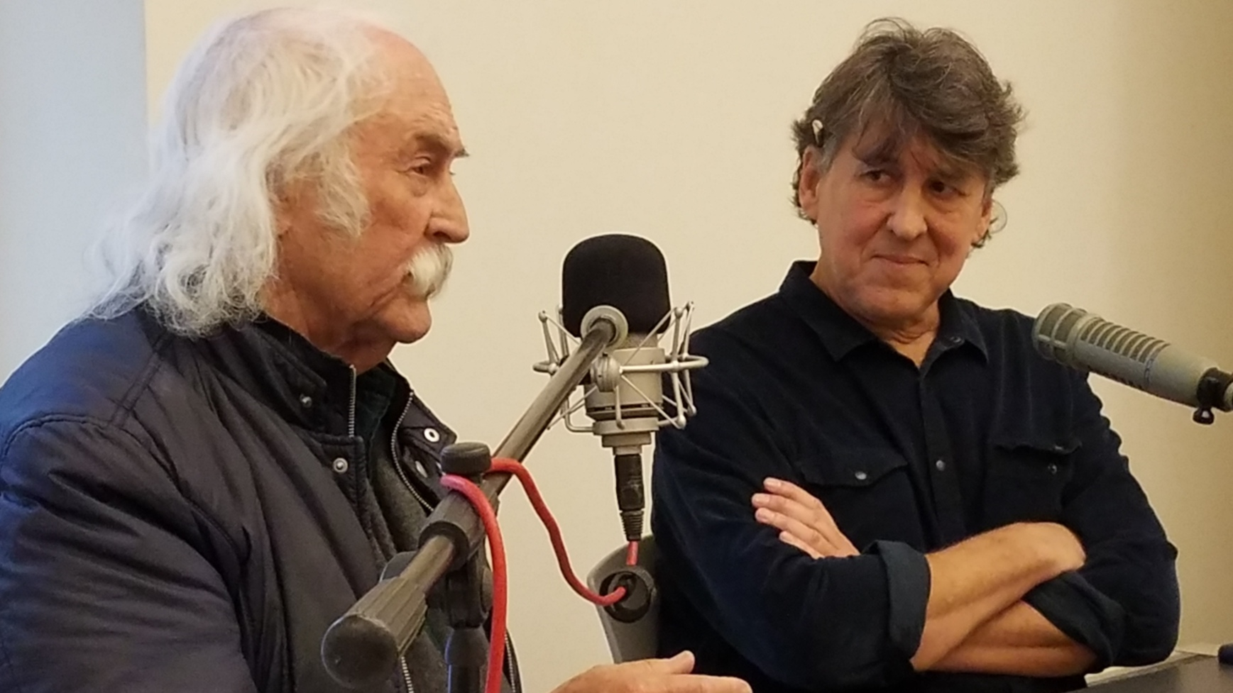 David Crosby & Cameron Crowe interviewed by Paul Chuffo.
