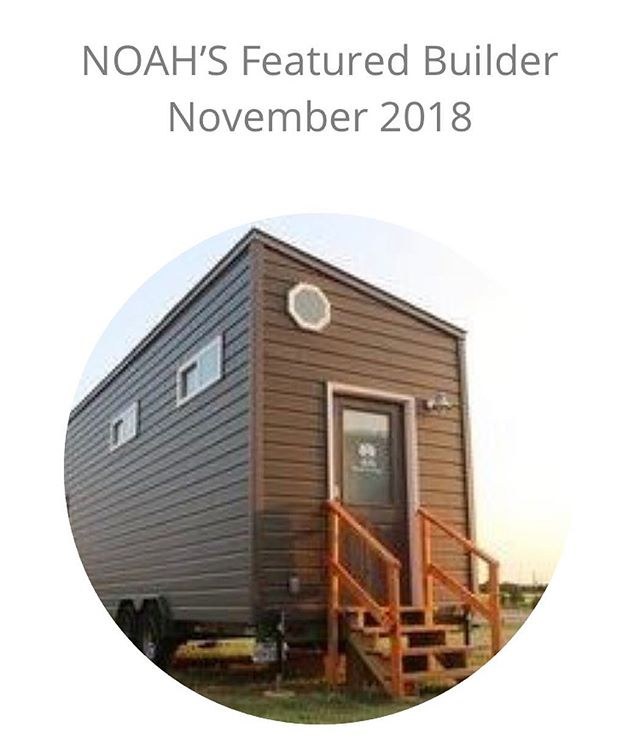 Happy to be featured builder for NOAH this month. 🙌🏼thanks guys!! ❤️🙏🏼- - - - - - #tinyhouses #tinyhomes #tinyhouse #tinyhome #tinyhousemovement #minimalism #diy #diyer #builder #building #home #homes #houses #love #lessismore #domore #smallspace #living #conscious #consciousliving #happy #tinyhousecouple #tinyhousefamily #family #families #featured #tinyhouselife #tinyhouseliving