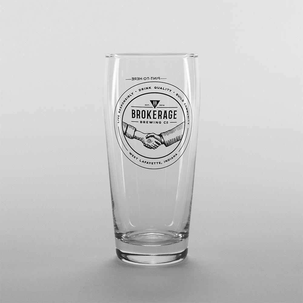 Pint Glass: $4