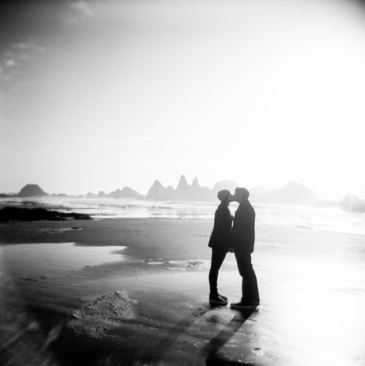 ASHLEY & JUSTIN // ENGAGEMENT SHOOT IN NEWPORT, OREGON