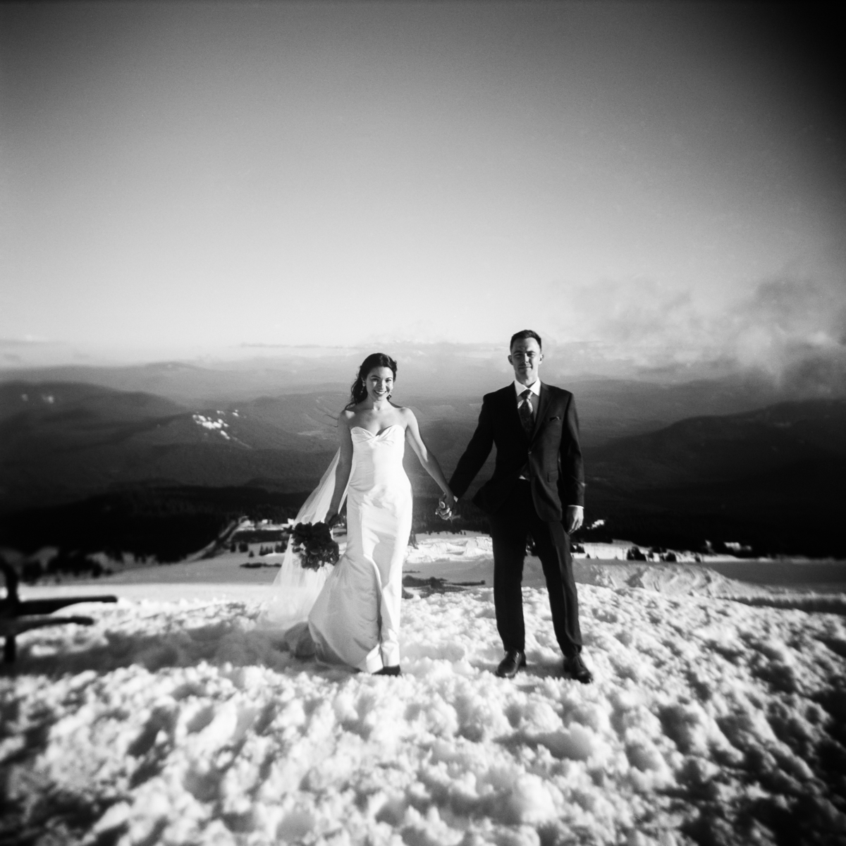 MOLLY & RYAN  // SILCOX HUT AT TIMBERLINE LODGE