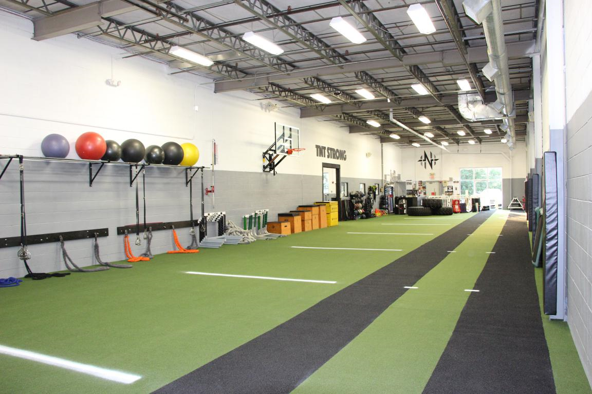 Performance Training and Rehabilitation Space Dynamic Turf Track Dedicated Treatment Room Elite Athlete Environment  (PARTNERED WITH TNT TRAINING)
