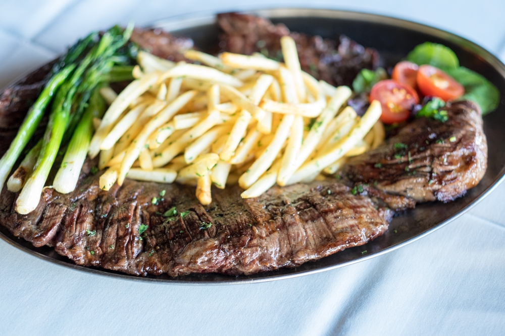 argentinian steak at puerto la boca, san diego