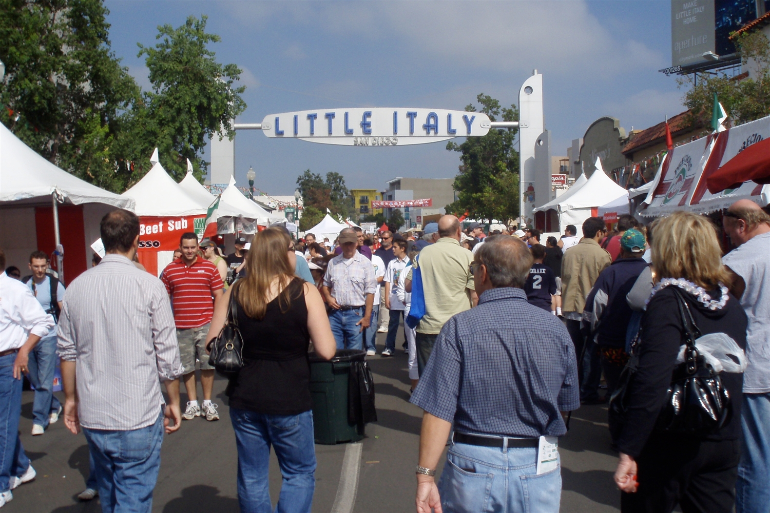 history of little italy san diego