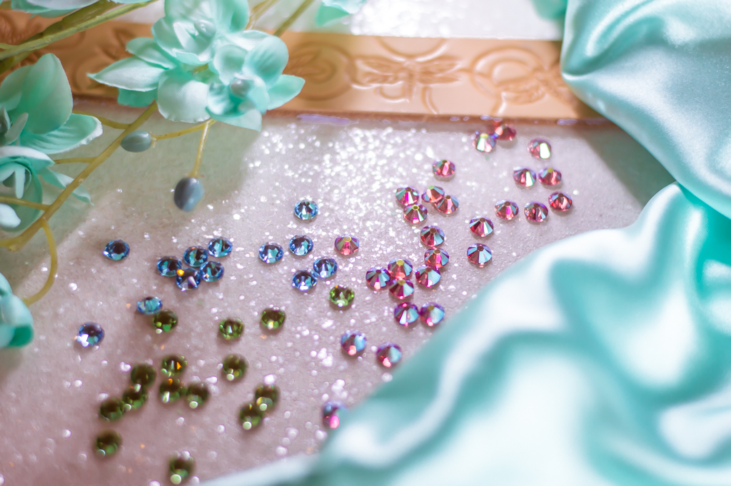 Genuine Swarovski Crystals!