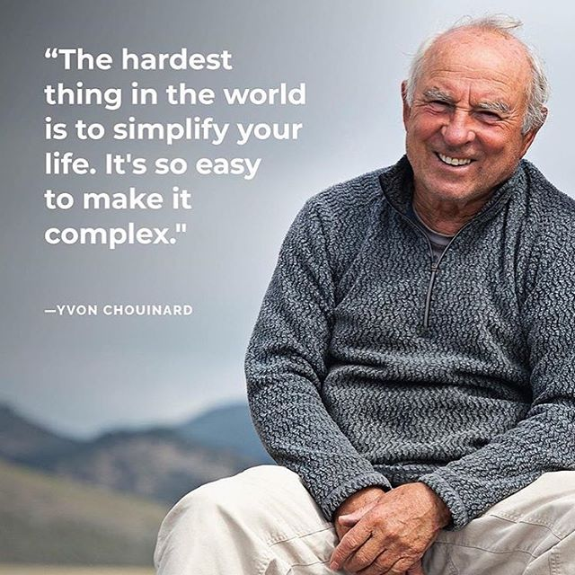 Keep It Simple 👊🏼 We're fired up to be partnered with @1percentftp !! #phgb will be a sponsor at this years global summit in @portland where we look forward to hearing this man speak. Yvon Chouinard is the founder of #onepercentfortheplanet and @patagonia, both leading the charge on businesses #givingback #givebacksnacks