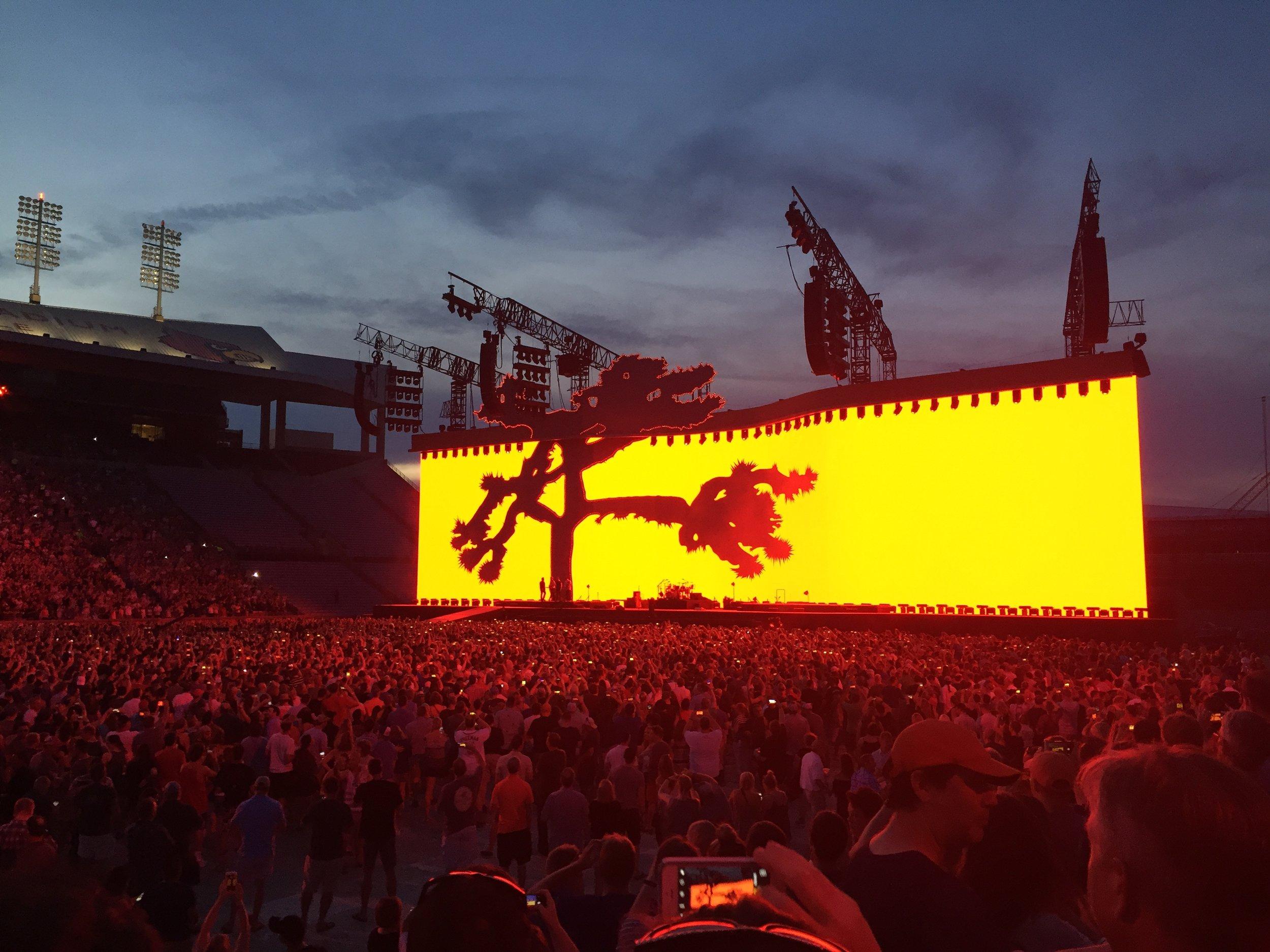 U2 at Louisville, KY
