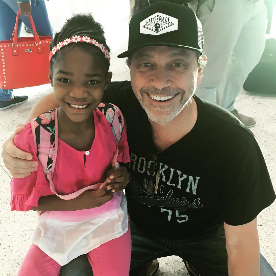 Ran into my beautiful little Haitian friend Missy!