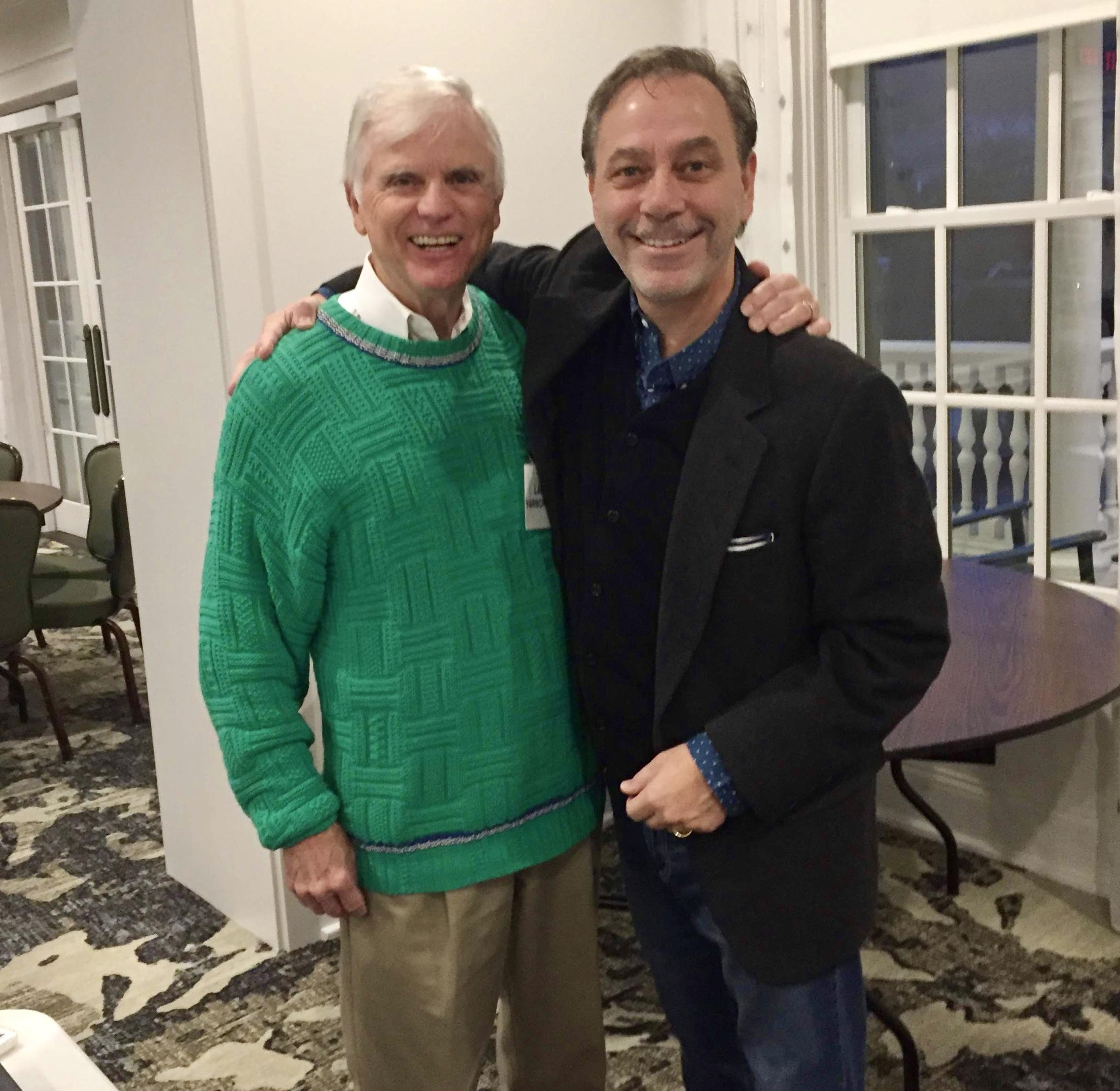 My friend Larry Yarbrough, esteemed Chaplain YMCA