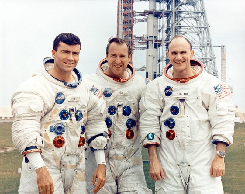The crew of Apollo 13.