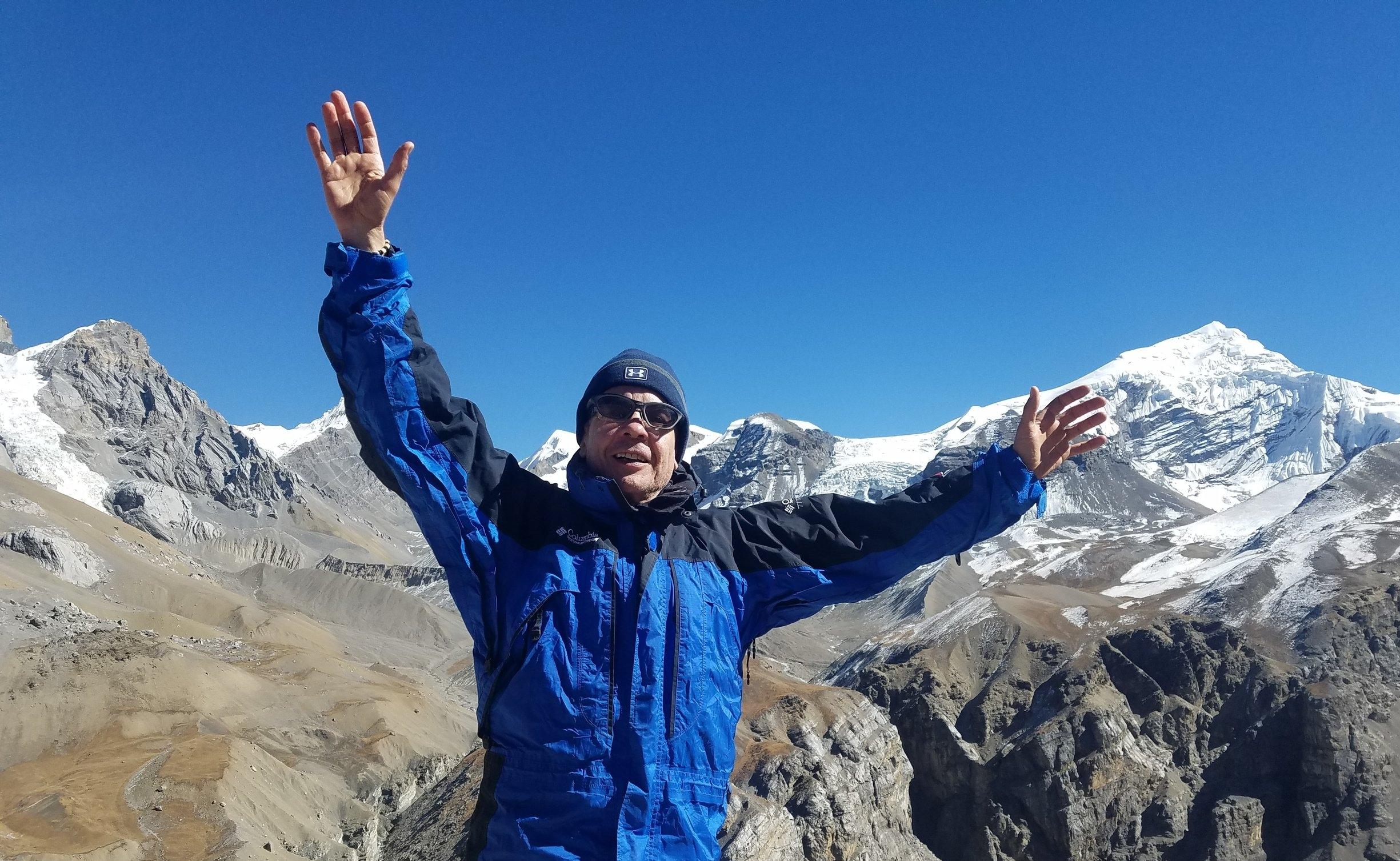 Throng PEdi high camp, Nepal (16000 ft)